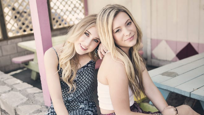 Maddie & Tae will perform on Aug. 16, 2016, at the Indiana State Fair.