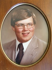 Lance DeWoody, seen in his high school portrait, was