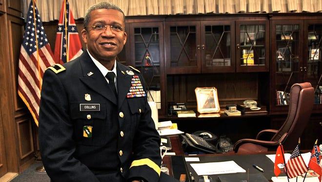 """Maj. Gen. Augustus L. """"Leon"""" Collins, adjutant general of Mississippi"""