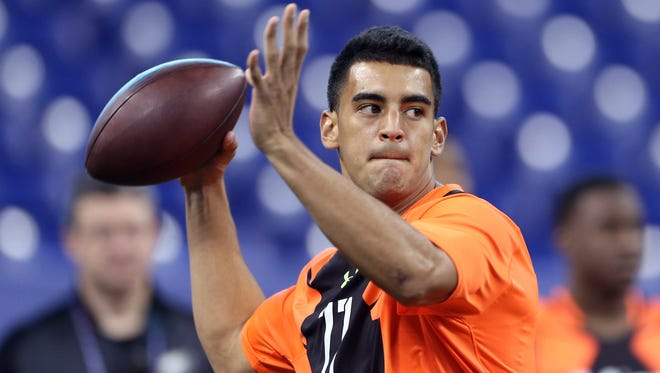 Whoever lands Marcus Mariota will be one happy team, Jon Gruden said.