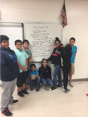"""The Good Life"" was written by the Prevention Savages, a group of 10 Seale Junior High teens. It's a tune about how success in life also translates to respecting others. Robstown students were asked to write lyrics dedicated to preventing violence as part of a special curriculum presented by the Women's Shelter of South Texas."