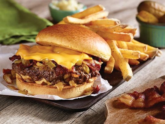The American Standard hamburger meal is one of seven