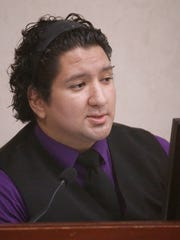 David Dominguez, a former Bowie High School student, testified Monday.