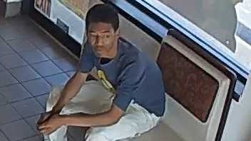 Suspect in armed robbery on June 27 at Hong Kong Express on Milwaukee's northwest side.