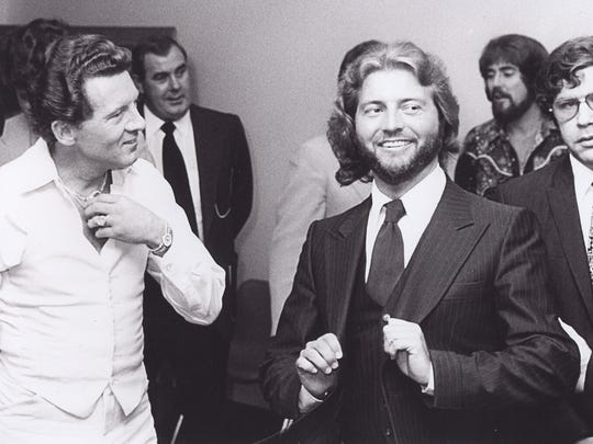 Jerry Lee Lewis and Knox Phillips