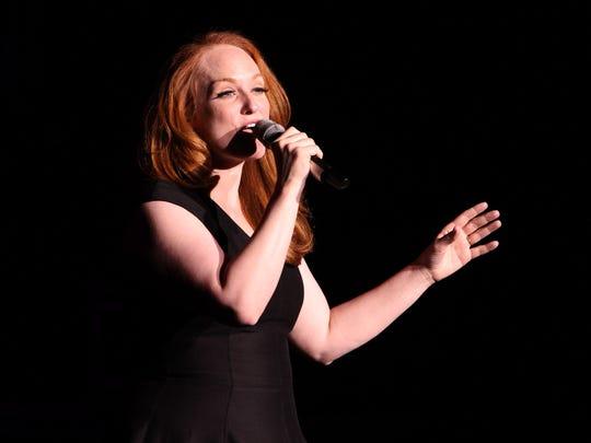 Antonia Bennett, Tony Bennett's daughter, performs