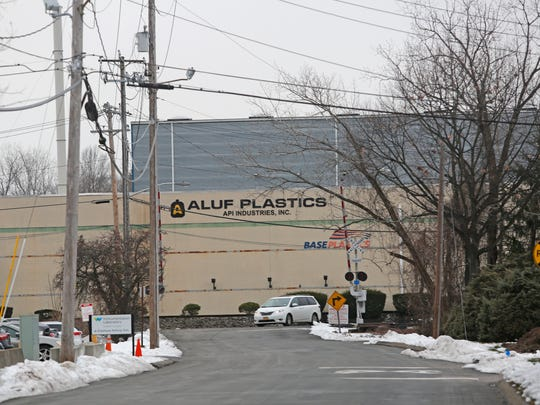 Aluf Plastics in Orangeburg on Dec. 21, 2016.  Local residents and the town has been complaining about odors coming from the plant.