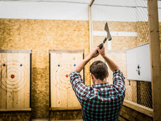 Tap & Axe will be the second ax-throwing location in central Indiana after Bad Axe Throwing opened in 2017.