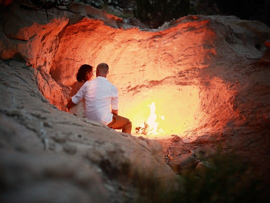 Desert Harbor Retreat, in Sandia Park, New Mexico, offers a chance for couples to spend quality time alone together.