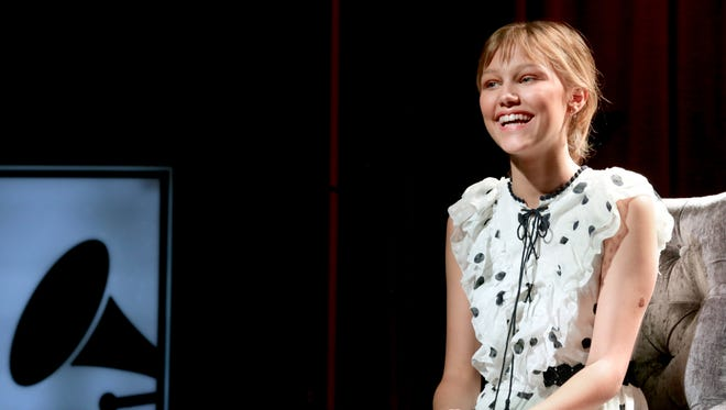 Grace VanderWaal chatted in an interview with USA TODAY  during an event at the Grammy Museum on Sunday.