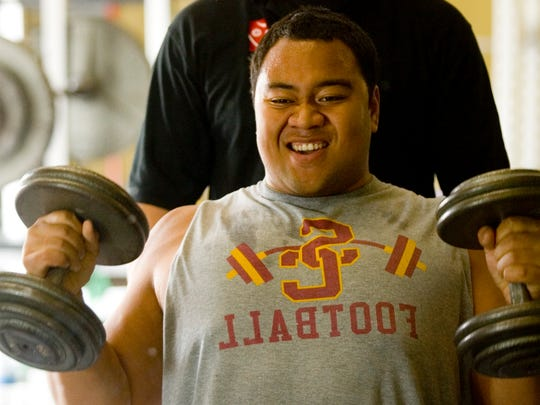 Born in Tonga, Deuce Lutui became the backbone of Mesa