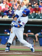 Kyle Schwarber has batted .333 in his 17-game stint with the Iowa Cubs. The 22-year-old catcher is set to return with Chicago on Friday as the Cubs face the Atlanta Braves.