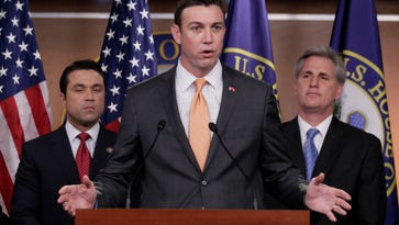 Rep. Duncan Hunter, R-Calif., center is a critic of the Human Terrain System program.