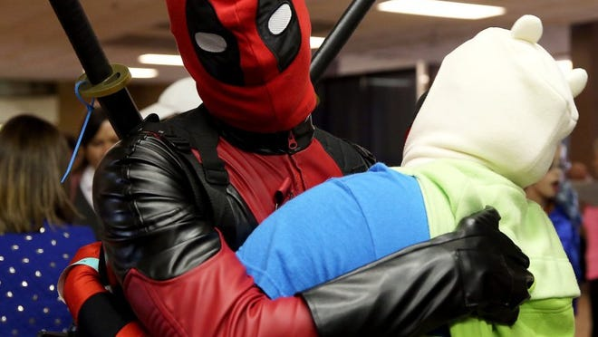Adam Sauceda/Standard-Times Cosplayers embraced San Angelo's first Comic Con on Saturday.