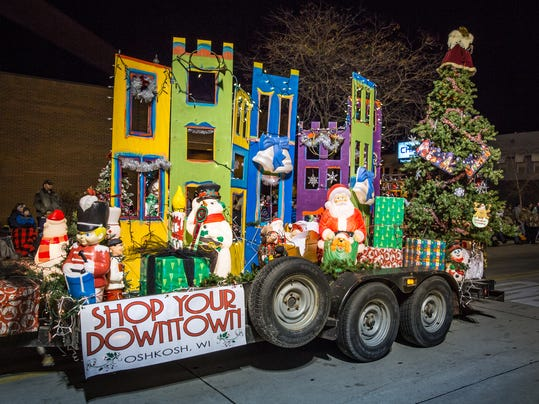Holiday parade photo