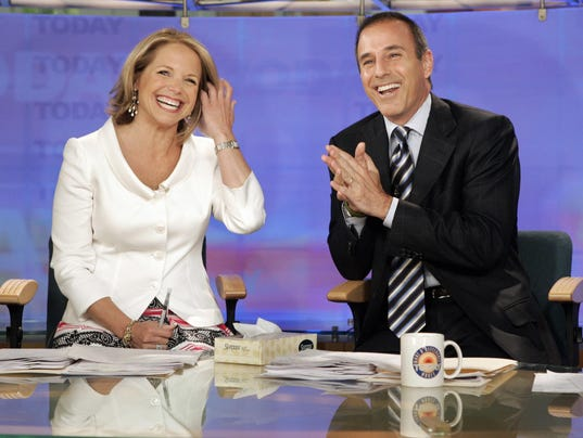 TV Katie Couric Matt Lauer