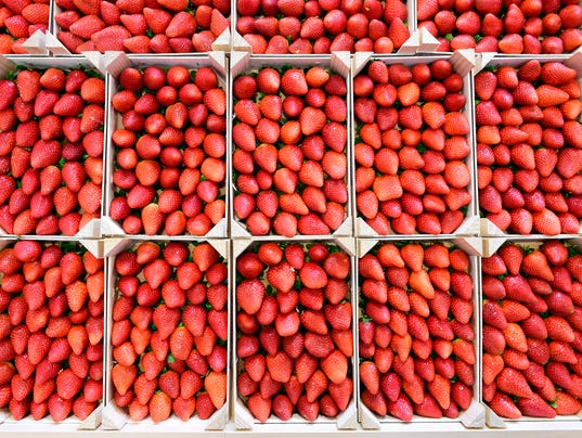 Strawberries _GERMANY-FOOD-FAIR-FRUIT-LOGISTICA
