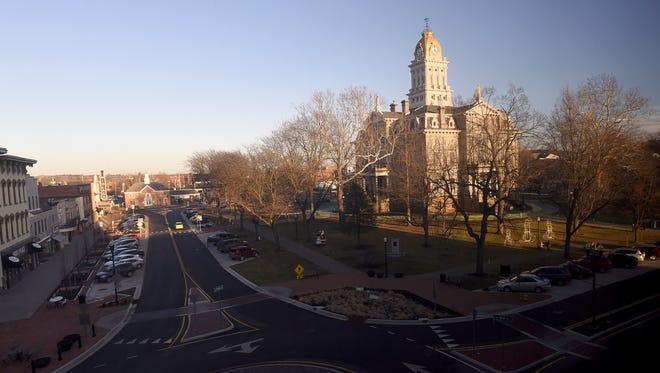Parking enforcement in downtown Newark begins Monday.