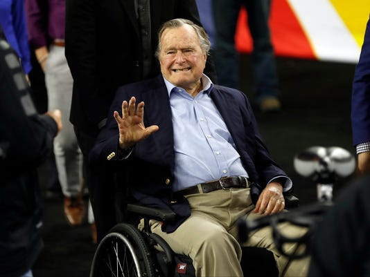 AP GEORGE HW BUSH HOSPITALIZED I FILE USA TX