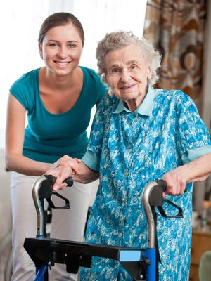 Walkers are among the devices used by senior citizens that can be repurposed or reused.
