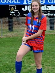 Soccer season for Evangel's Ellie DuBois is right around