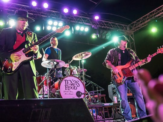 Texas Flood, the Stevie Ray Vaughan tribute group from