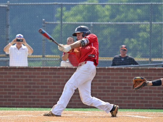 Riverheads' Grant Painter, who had three hits in the Gladiators' 13-1 victory Saturday over Honaker in the VHSL Class 1 state final, was named to the All-Region 1B first team as a shortstop.