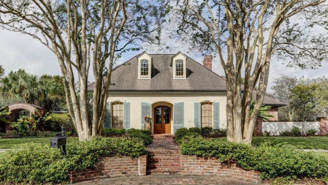 This 5 bedroom 5 bath home is located at 200 Llansfair Drive in Lafayette. It is listed at$1,265,000.