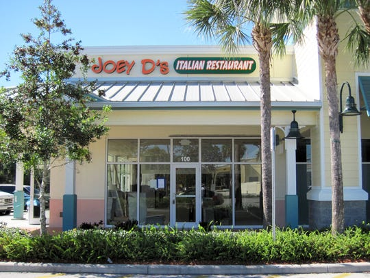 Joey D's Italian Restaurant permanently closed July