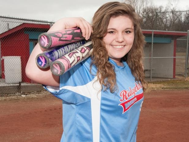 Ridgedale sophomore Hannah Ferguson is the Fahey Bank's Female Athlete of the Month for May.
