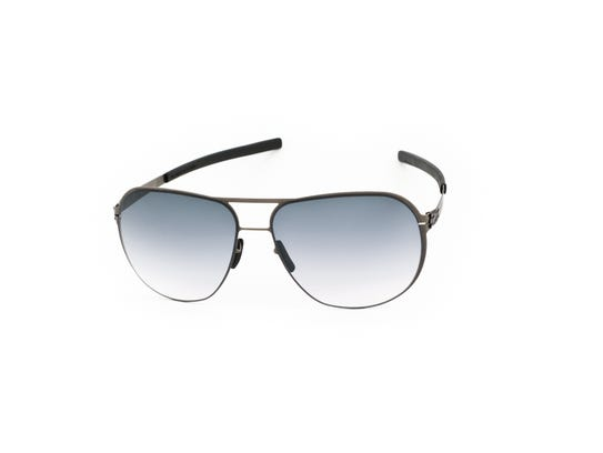 These glasses, style Guenther N, from ic! berlin are