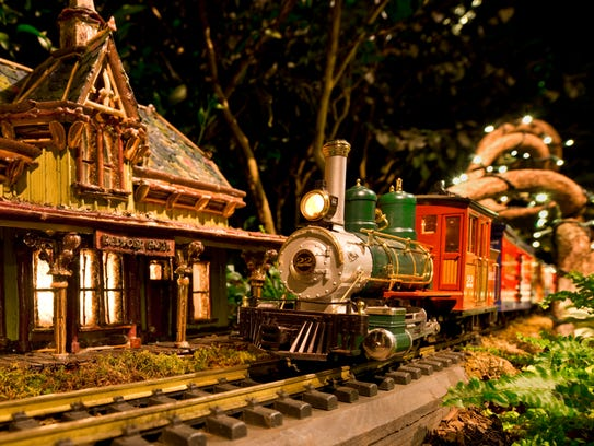 New York Botanical Garden's Holiday Train Show is a