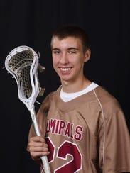 Former Arlington High School lacrosse player Brendan