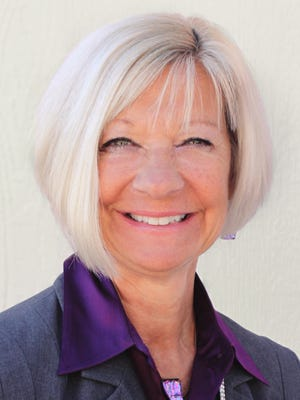 Debbi Burdick is superintendent of the Cave Creek Unified School District but participated in the Principal for a Day program for four years as principal at Wilson Primary School.