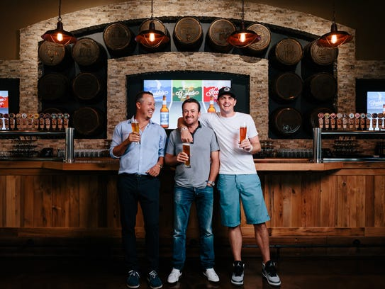 GolfBeer Brewery Company The First Tasting with PGA