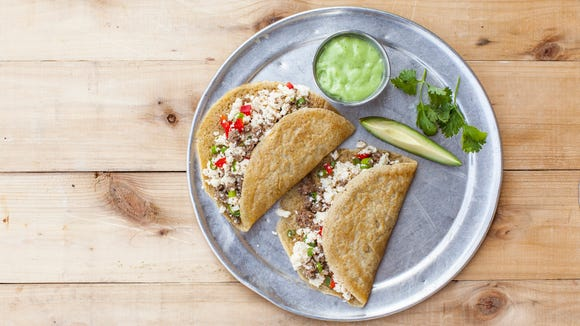 Chicken breakfast tacos can change how you see your first meal of the day at Snap Kitchen.
