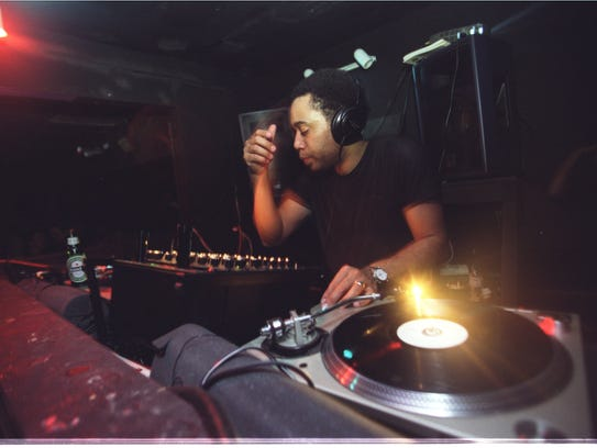 Carl Craig at Labyrinth in Detroit in 2002