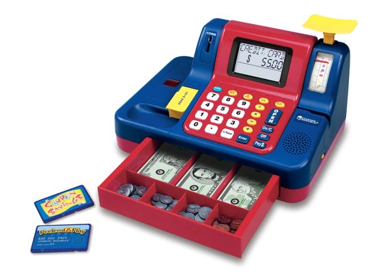 Learning Resources Teaching Cash Register Ages 3 and