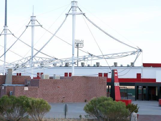 Cohen Stadium in Northeast El Paso