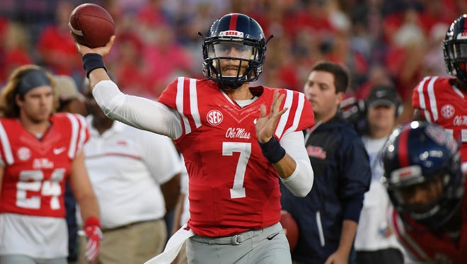 Quarterback Jason Pellerin may start for the first time in his Ole Miss career on Saturday.