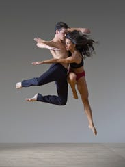 Ian Spring and Elena d'Amario of Parsons Dance Company.