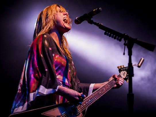 Grace Potter performs during day two of the Grand Point