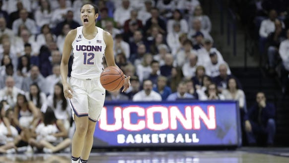 Connecticut Huskies guard and former Ossining High