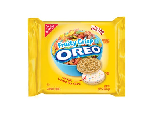 Limited edition Fruity Crisp Oreo