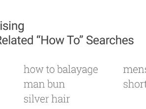 Hair-raising how-to searches are popular on YouTube