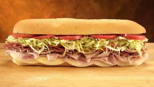 Pictured is Jersey Mike's #13, The Original Italian:
