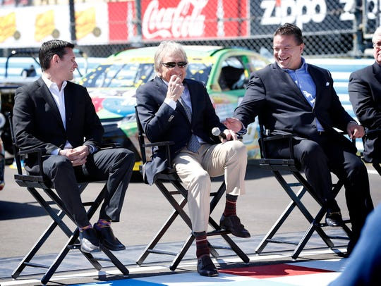 Watkins Glen International President Michael Printup,
