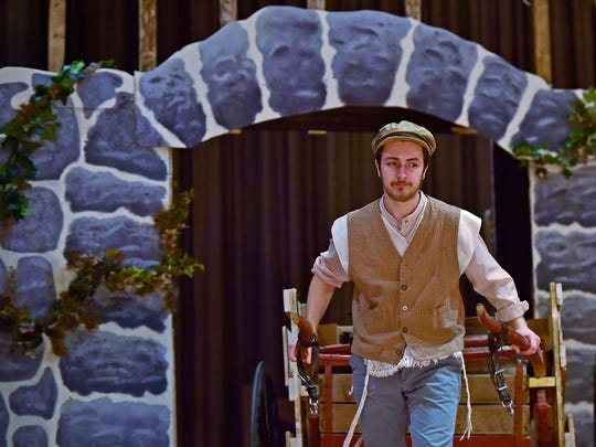 Tevye (Luke Hershey) of Shippensburg Area Senior High