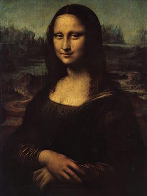 "The ""Mona Lisa"" by Leonardo Da Vinci is in the Louvre Museum in Paris."