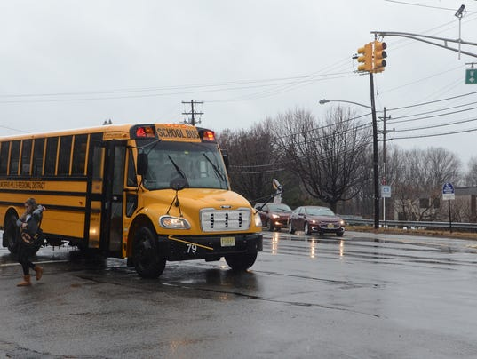 Passing school buses